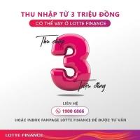 Lotte Finance Thông báo SP mới : Cho vay đối với Khách hàng có Thẻ Bảo hiểm y tế